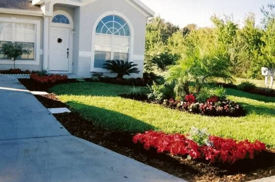 Central florida landscaping ideas photos central florida for Florida landscape ideas front yard