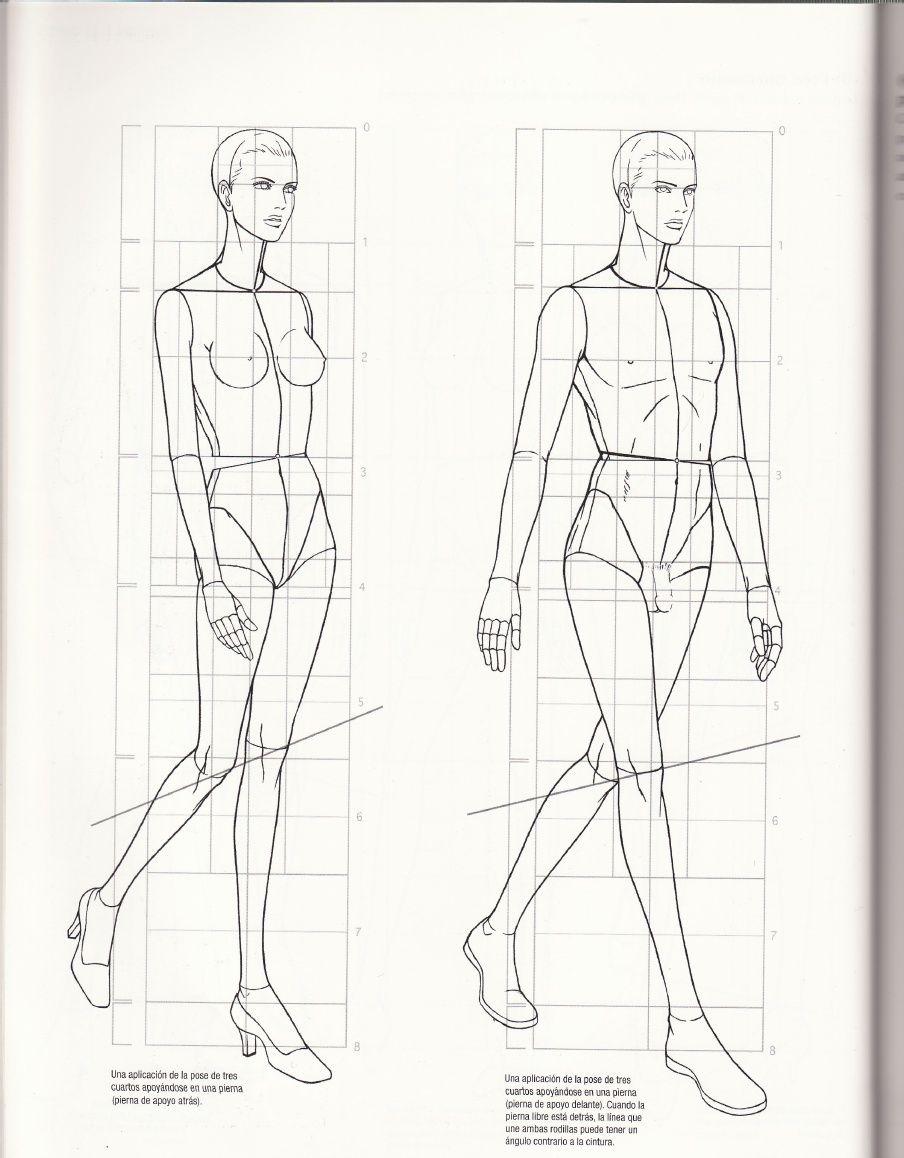 diseño de moda | dibujo | Pinterest | Diseños de moda, Figurin y ...