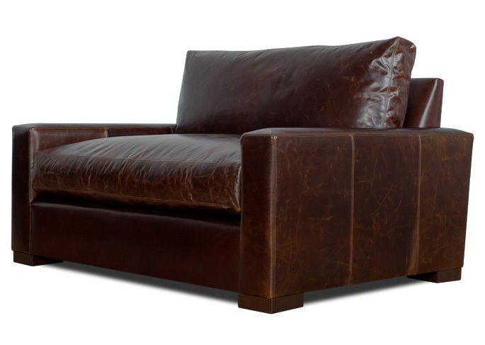 Grant Leather Chair and a Half