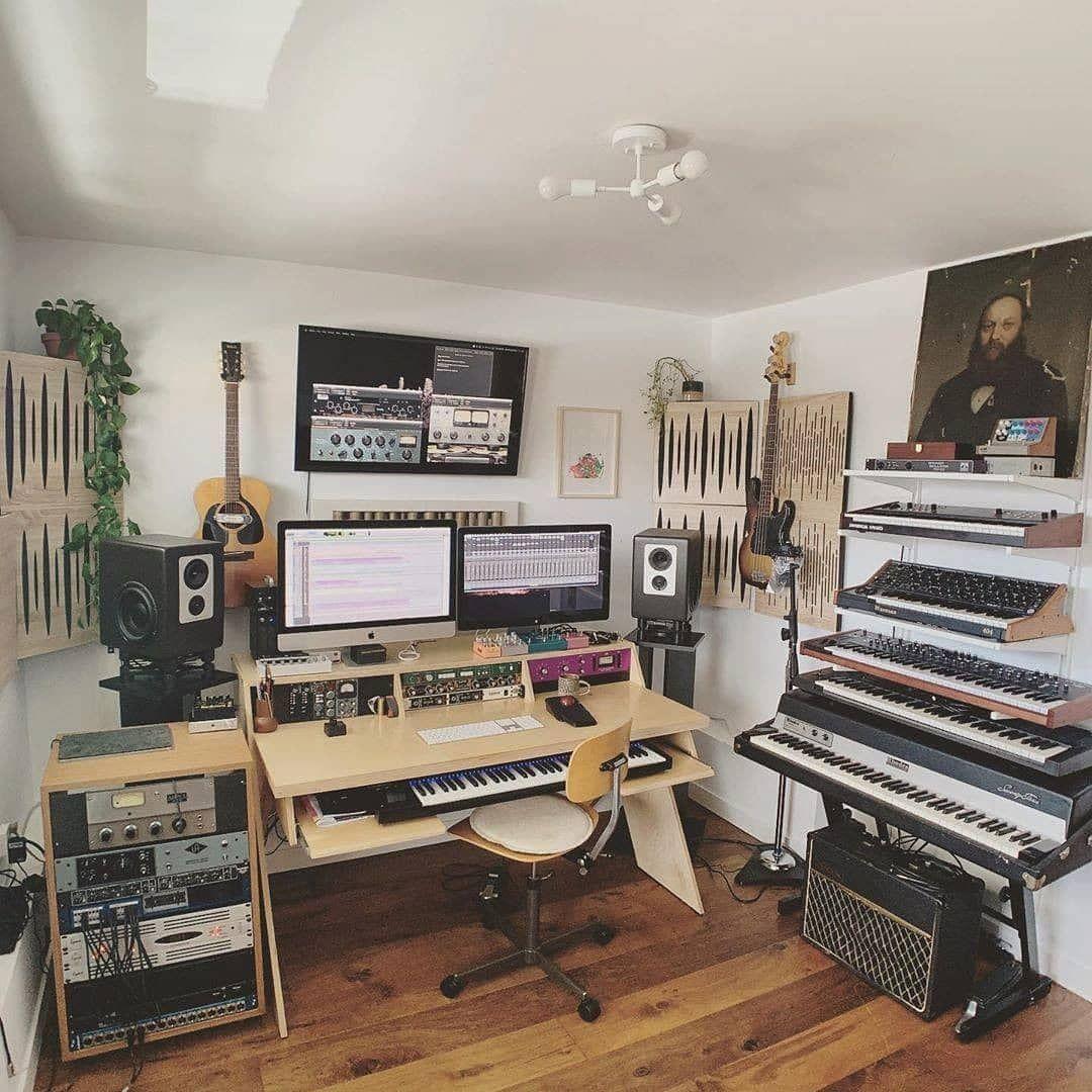 10 Modern Home Studio Setups That Nail The Vibe