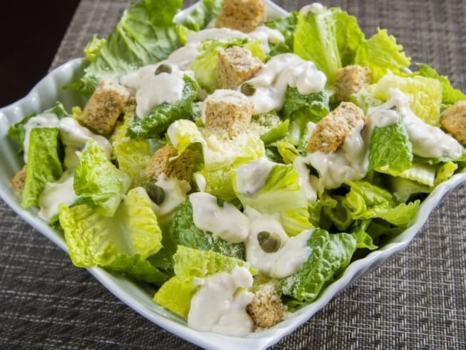 Buttermilk Gives This Classic Style Caesar Dressing Extra Texture And Flavor Serve On Romaine Or Ice Buttermilk Dressing Main Course Recipes Main Dish Recipes