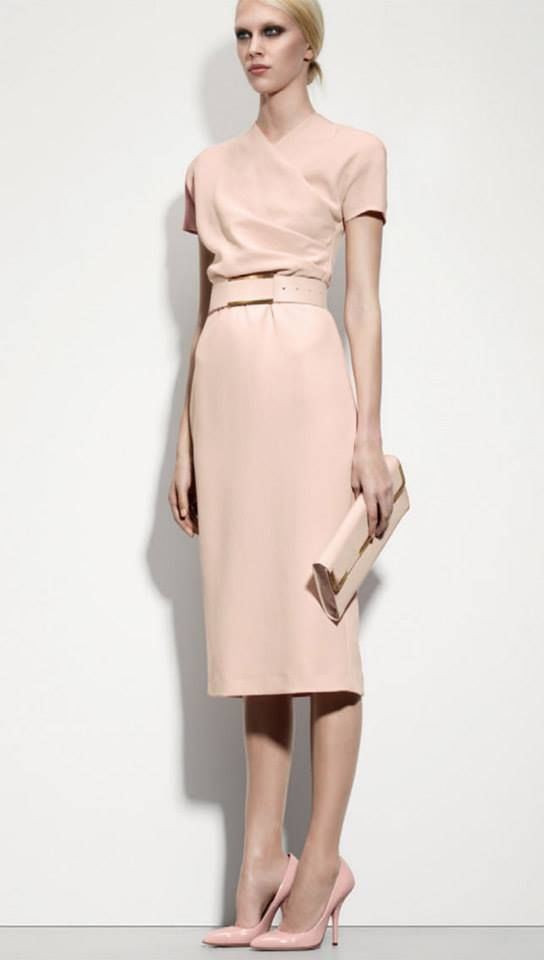 bd189fd659f LOVE! Perfect for in and out of the office. Petale crepe japponaise dress  by Bottega Veneta  on.fb.me 13u1sbS