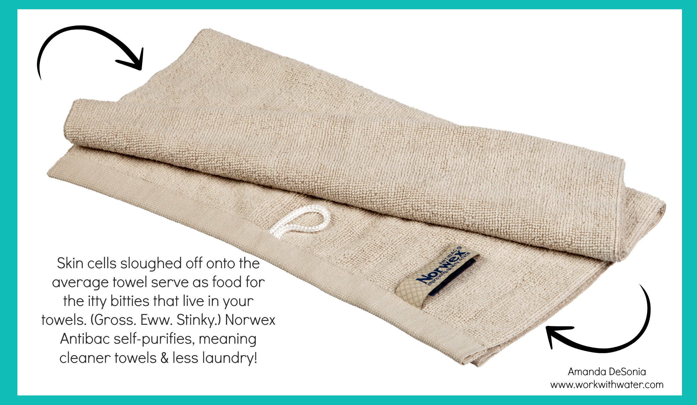 Norwex Bath Towels Glamorous Nowex Bath And Hand Towels  Norwexcreating Your Healthy Home Design Inspiration