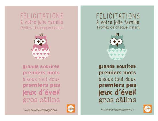 Super Félicitations Fille / Garçon | Cameo | Pinterest | Fille garçon  DS15