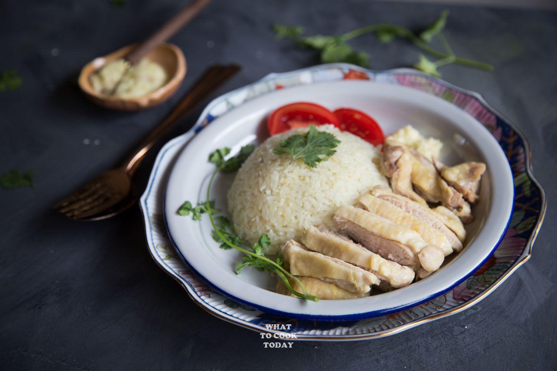 Easy Pressure Cooker Hainanese Chicken Rice In 2019 -3041