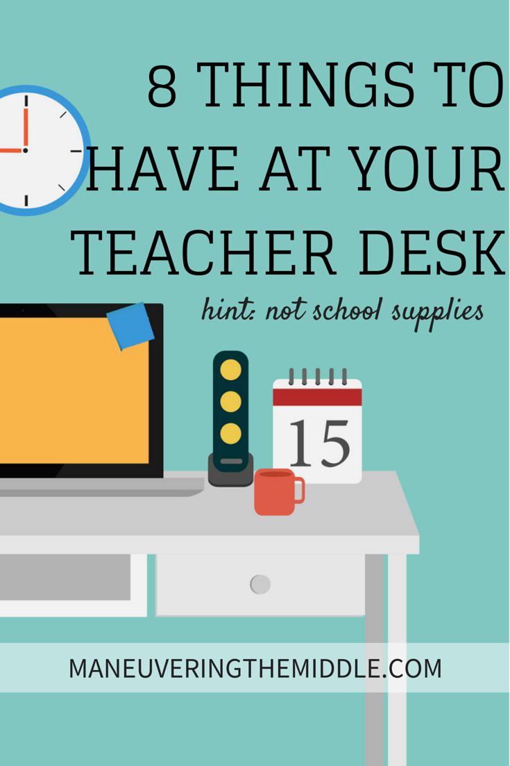 8 Things All Teachers Need at Their Desk | Your hair, Teaching and ...