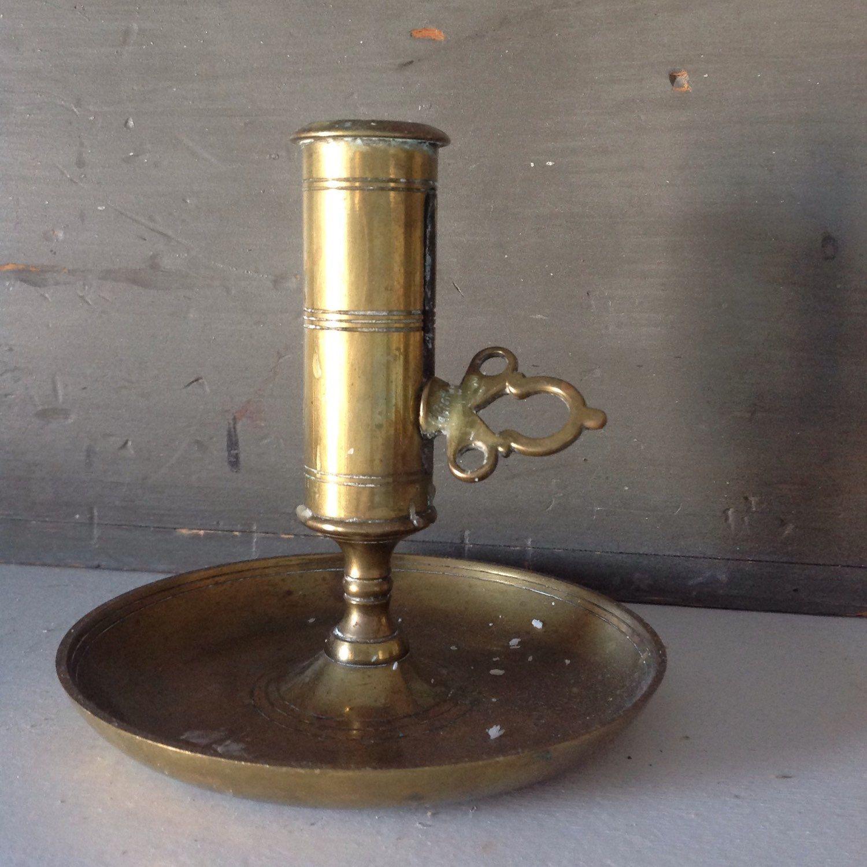 Antique Brass Swedish Candle Holder Swedish Chamber Sticks Etsy Swedish Candle Candle Holders Antiques