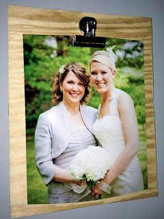 Make your own clip boards #diy #giftideas