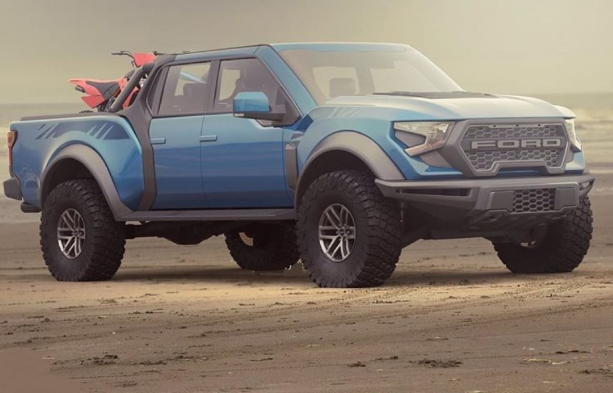 5 Ford F-5 Raptor First Rendering Image Appears in 5