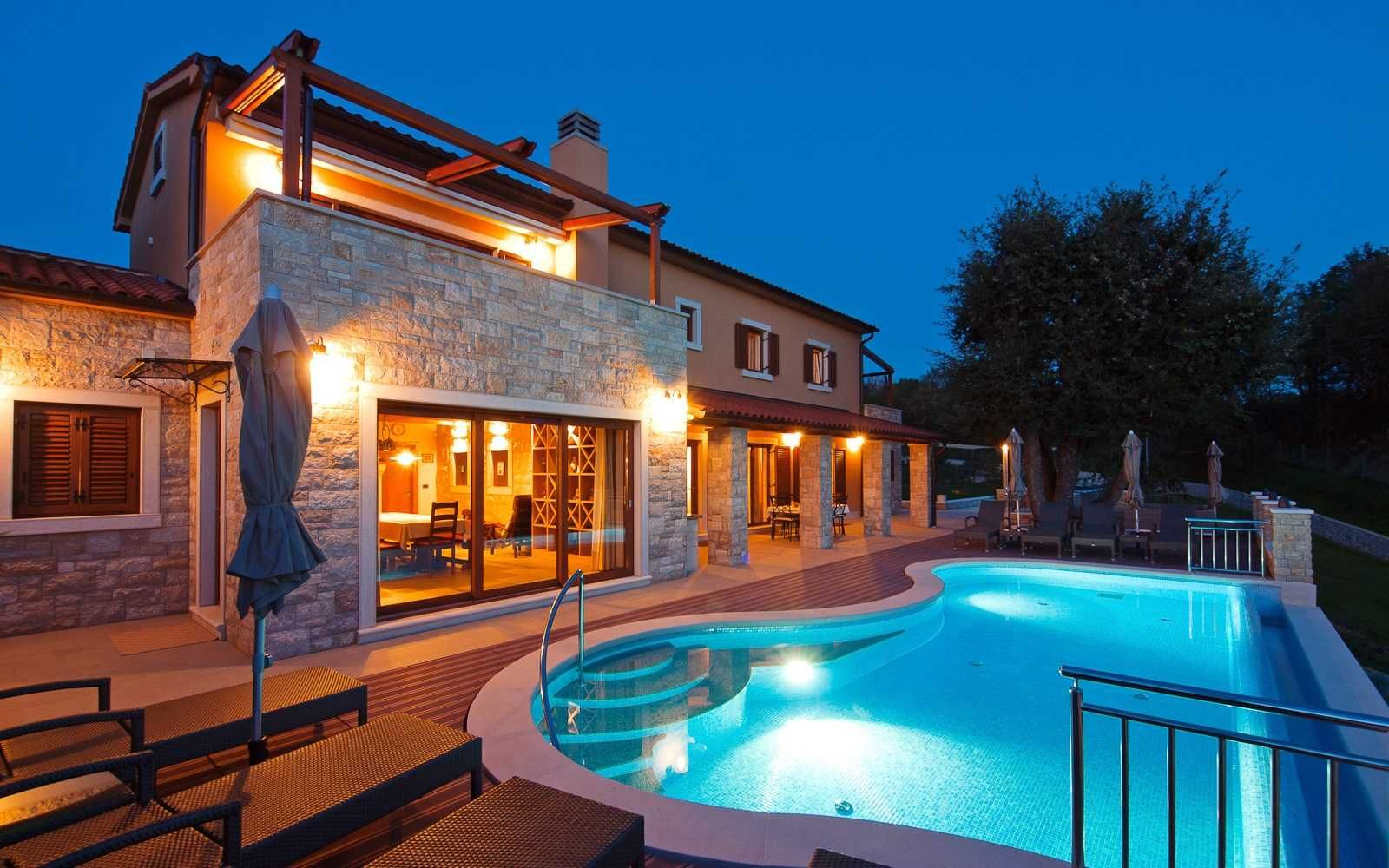 Istrien Ferienhaus Mit Pool Am Strand Istria Villas Croatia Luxury Villa Istria Estate With