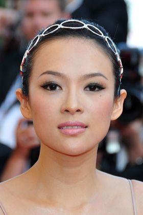Slight Cat Eye Soft Smokey With Pink Lip Asian Eye Makeup Asian