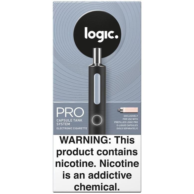 LOGIC PRO Vape Pen Starter Kit - Capsule Vaporizer w/ 2 FREE Capsule