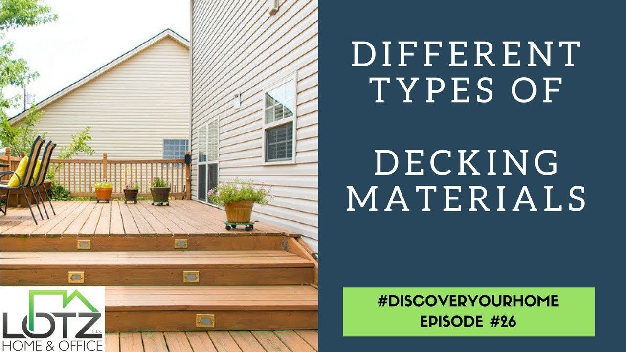 Let S Analyze The Different Decking Being Used In The Midwest Let S Discuss The Costs Upkeep Benefits And Disa Decking Material Building A Deck Ipe Decking