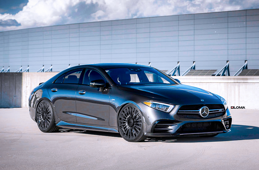 2020 Mercedes Cls Stanced With Loma Monte Carlo Wheels In 21 Inches Mercedes Cls Mercedes Mercedes Cls Class