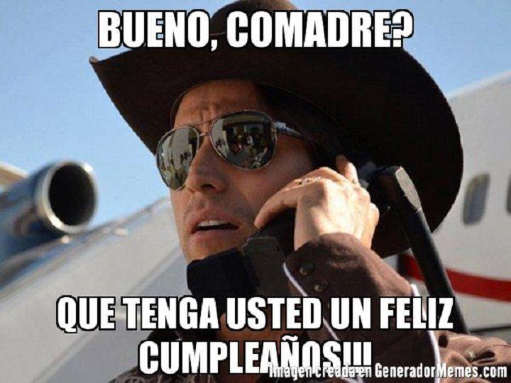 Feliz Cumpleanos Comadre 1 Png Jpg 720 540 Birthday Humor Memes Humor