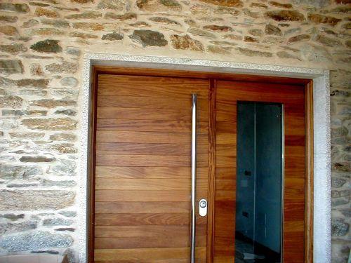 Puertas modernas entrada hierro buscar con google - Puertas entrada exterior ...