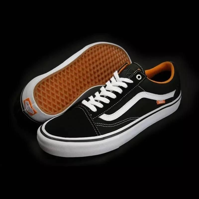 2a6f9dbdab03a6 Vans x Cult Crew Old Skool Pro Classic Black True White Womens Shoes  Vans