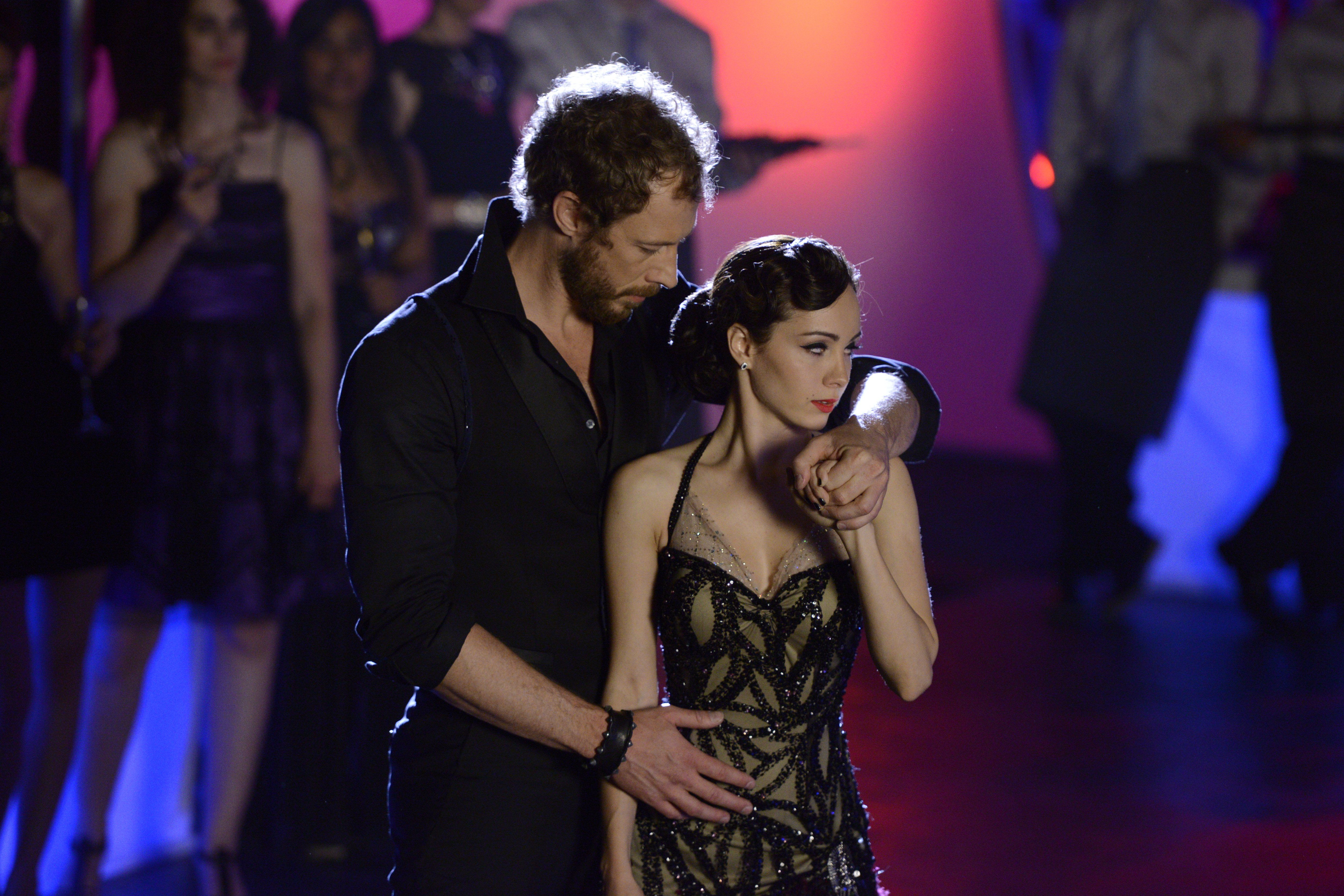 Lost Girl - Kris Holden-Ried as Dyson and Ksenia Solo as Kenzi