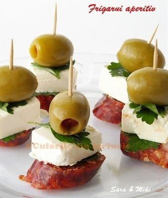 Party Frosting: appetizers #fingerfoods