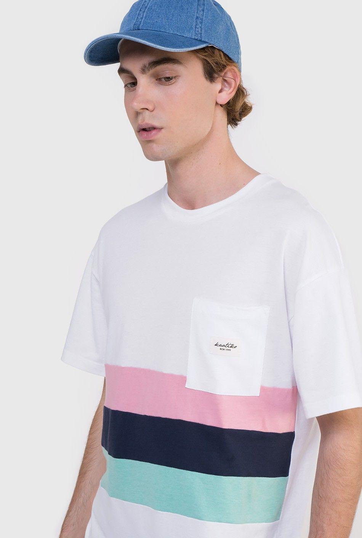 240b153ad8 www.kaotikobcn.com Made in Barcelona #kaotikobcn #tshirt #boy #clothing # stripes #pocket