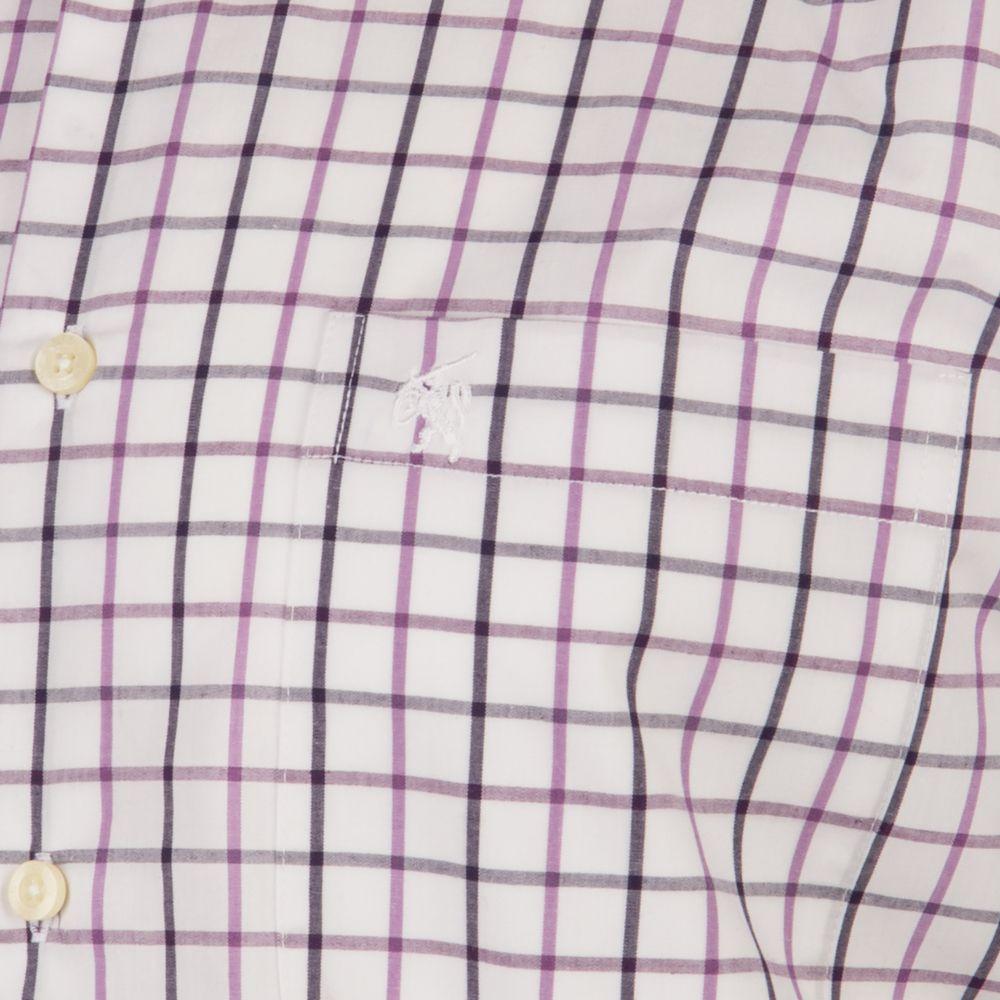 Carson Medium Check Short Sleeve Shirt by Carson
