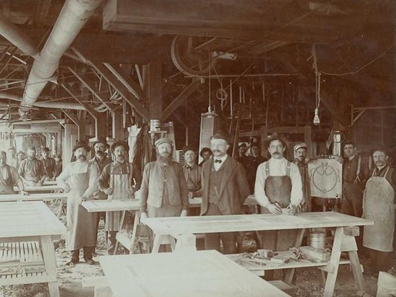 Oshkosh Door traces its heritage back to the days of Paine Lumber Company. #History & Oshkosh Door traces its heritage back to the days of Paine Lumber ...