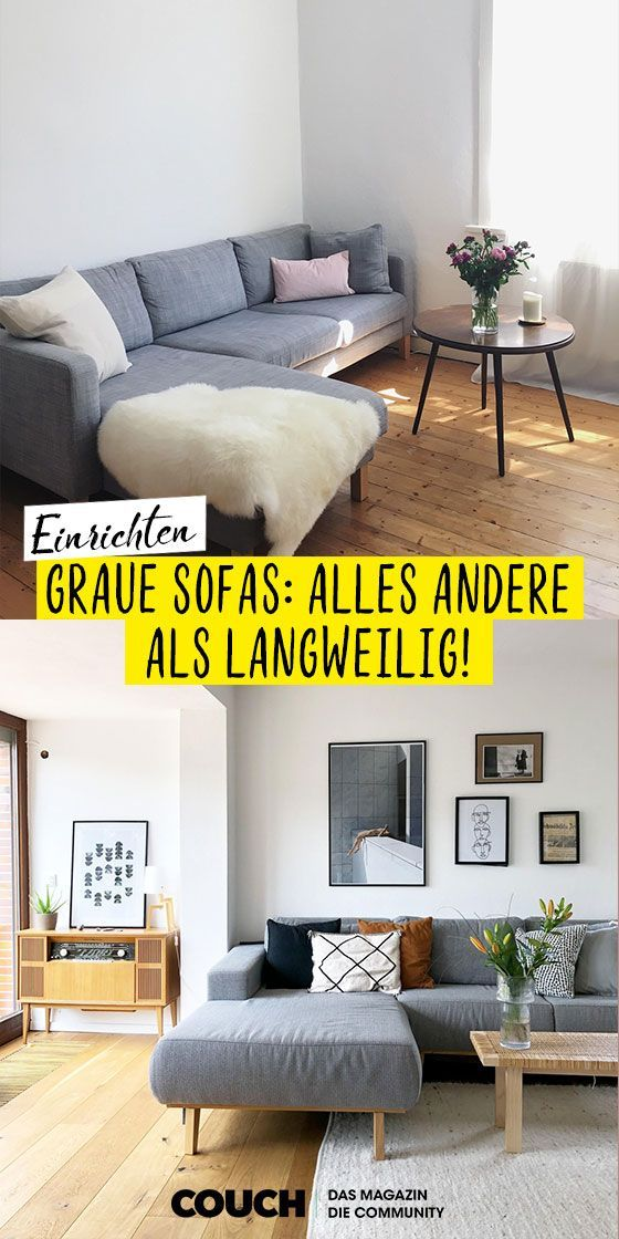 Graues Sofa Bilder Ideen Https Pickndecor Com Dekor In 2020 Graues Sofa Wohnzimmer Grau Graues Sofa Wohnzimmer