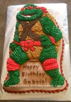 Coolest Teenage Mutant Ninja Turtle Birthday Cake In 2019