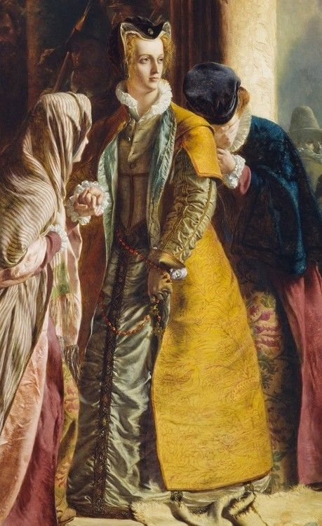 Detail From The Return Of Mary Queen Of Scots To Edinburgh James Drummond 1870 Mary Queen Of Scots English Monarchs Queen Of England