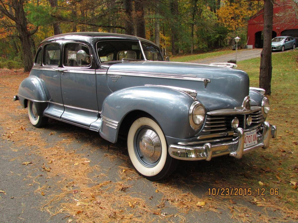 1947 Hudson Commodore For Sale Hudson Commodore Hudson Car