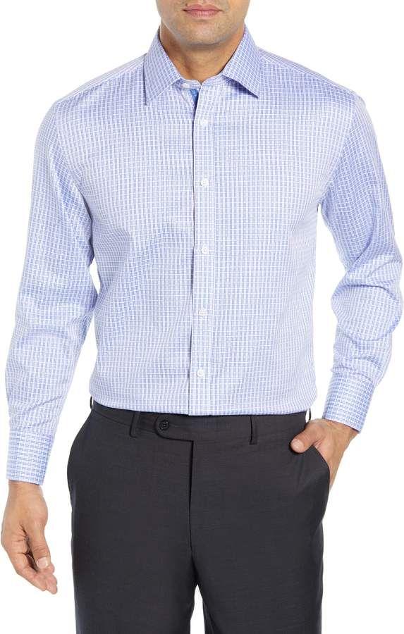 English Laundry Regular Fit Check Dress Shirt Mens Designer Shirts Mens Clothing Styles Shirt Dress