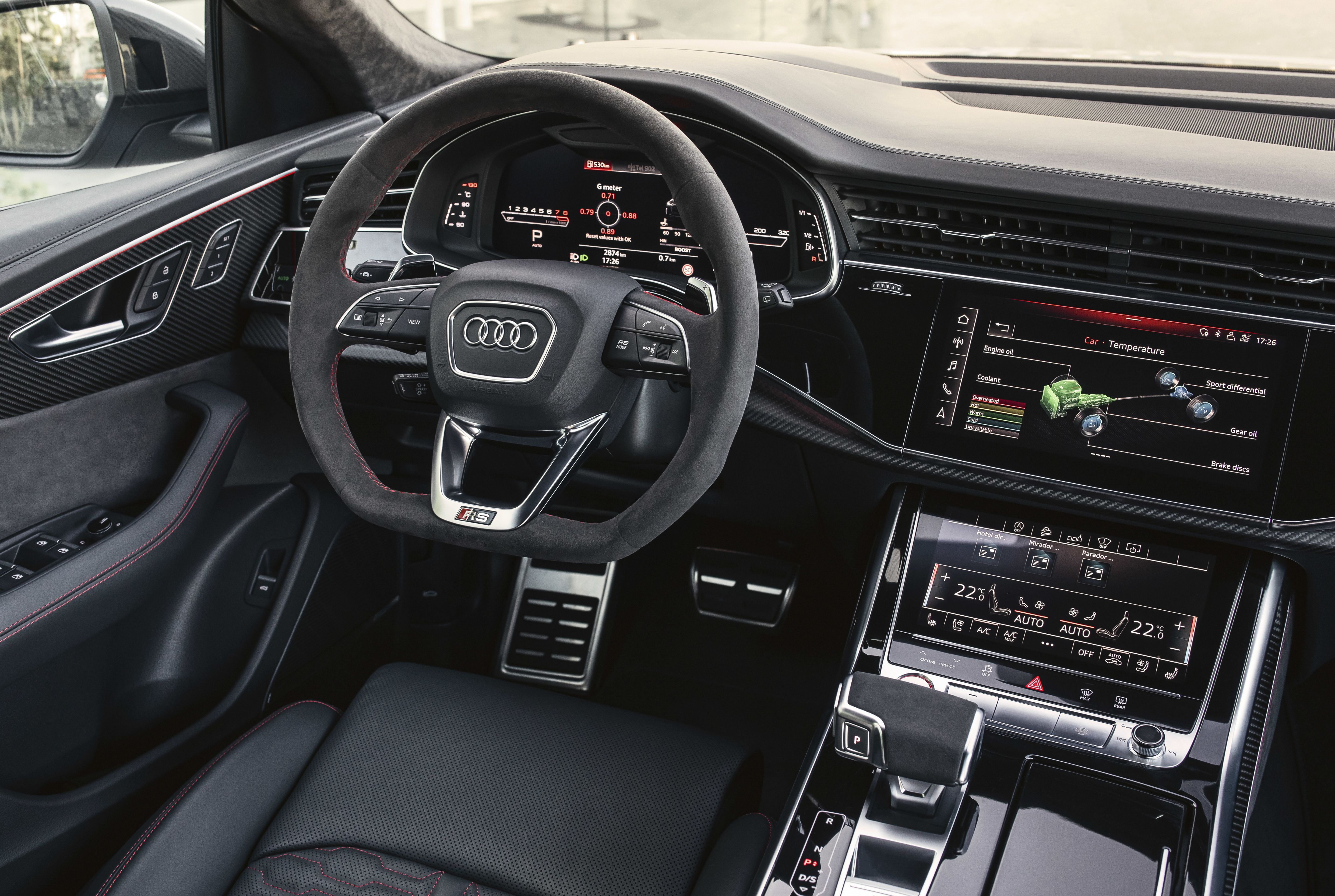 Audi Rs Q8 Interior In 2020 Audi Rs Audi Audi Sport