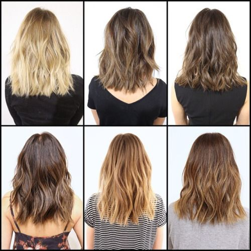 Lob Back View Google Search Hair Styles Hair Lengths Medium