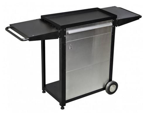 Best Kitchen Cart | Camp Chef Patio Cart BLACKSILVER *** You Can Find More