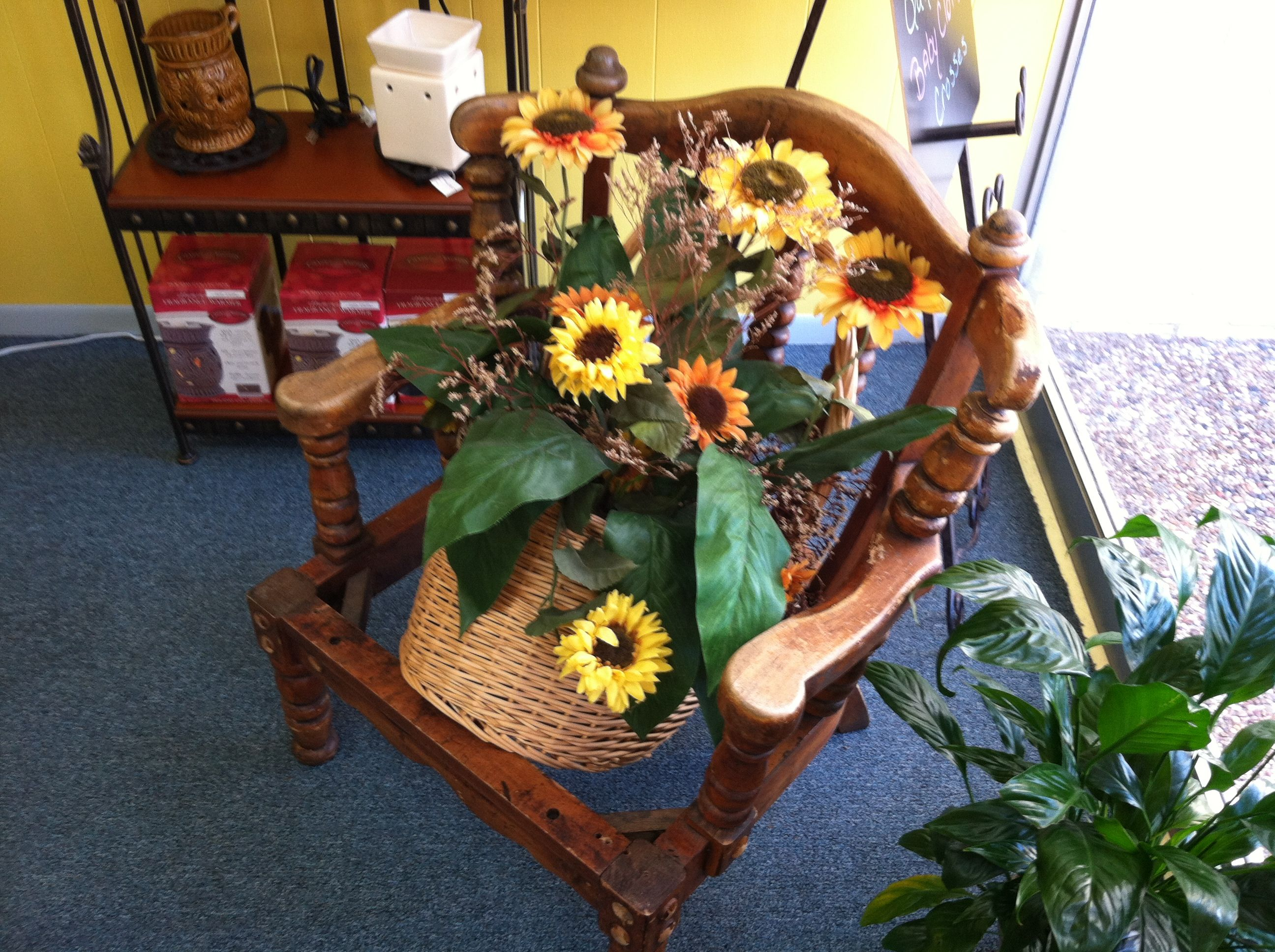 The Olive Branch, a new Grove shop, is blooming this spring.