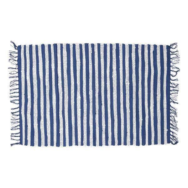 Rug Sally indigo, teppich von Greengate, daskleine Dachstübchen - Das kleine Dachstuebchen