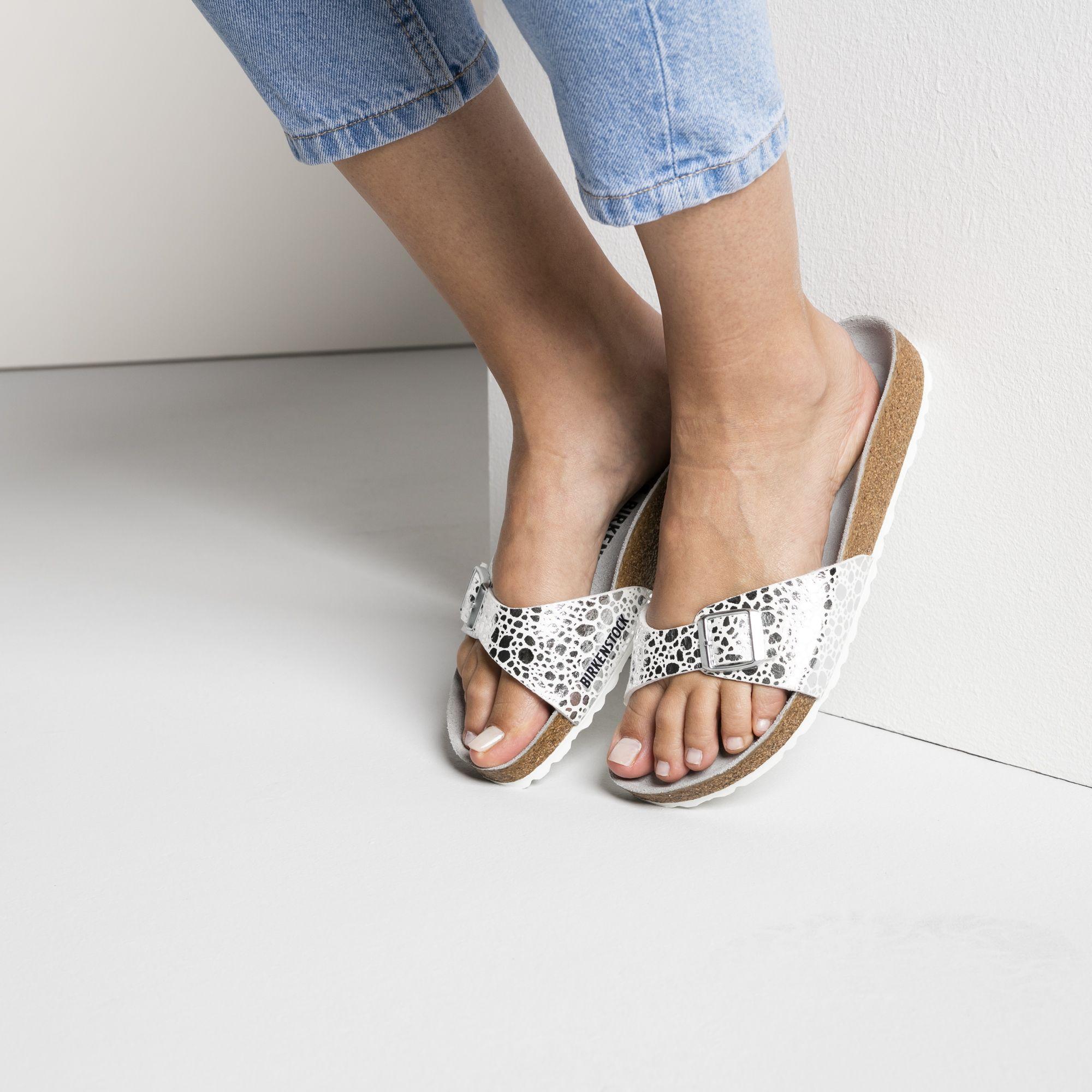 a49e49d4ba15 Madrid Birko-Flor Metallic Stones Silver