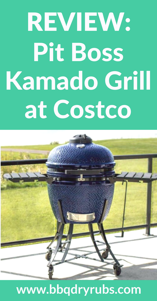 Pit Boss Kamado Grill At Costco Better Than A Big Green Egg Kamado Grill Kamado Grill Recipes Best Charcoal Grill