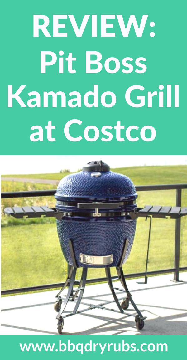 Pit Boss Kamado Grill At Costco Better Than A Big Green Egg Kamado Grill Kamado Best Charcoal Grill