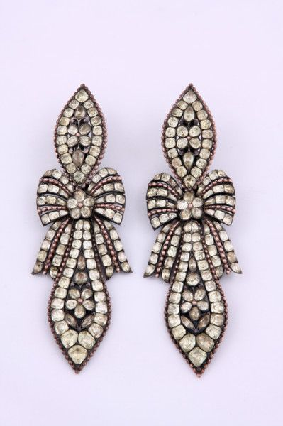 Pair of 18th Century Earrings (Portugal)