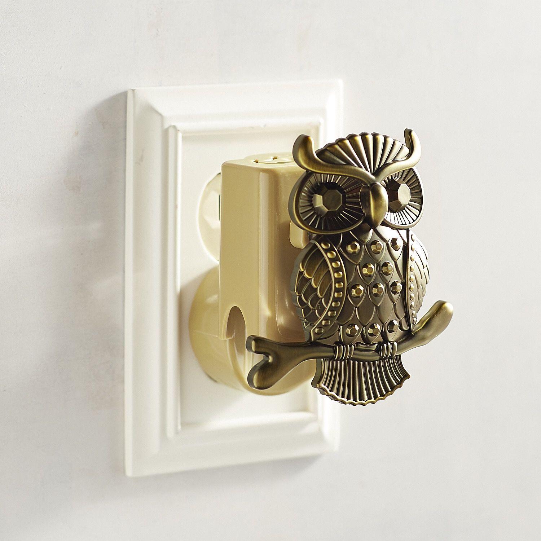 Brass Owl Electric Diffuser Bronze