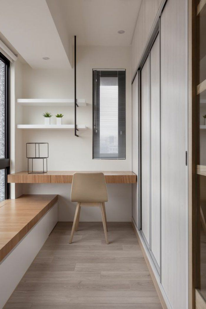 1001 solutions pour l 39 quipement de vos petits espaces deco comment am nager une chambre - Petit bureau chambre ...