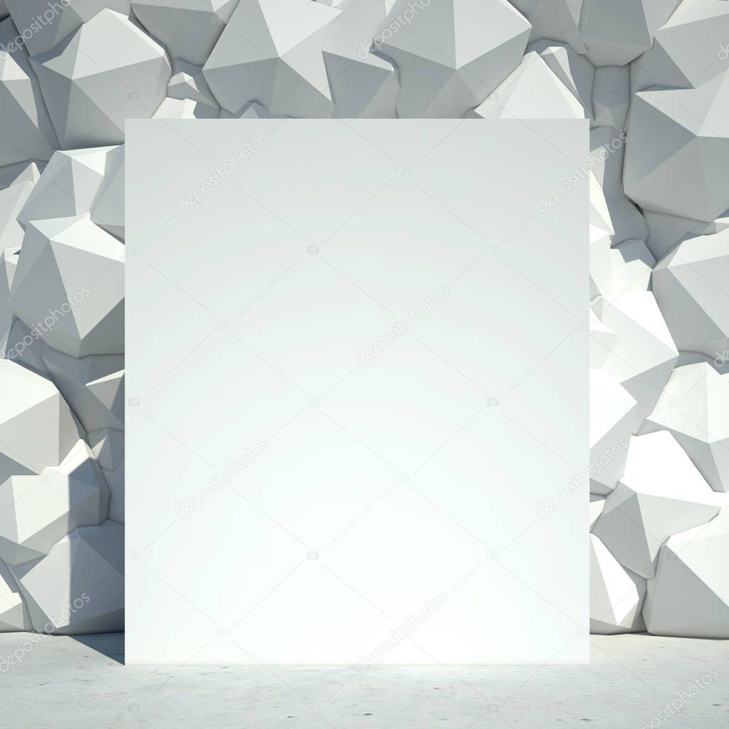 Render Abstract Geometric Concrete Wall Whiteboard Background Stock Pho Ad Geometric Concrete Render Abstract Ad Abstract Concrete Wall Geometric