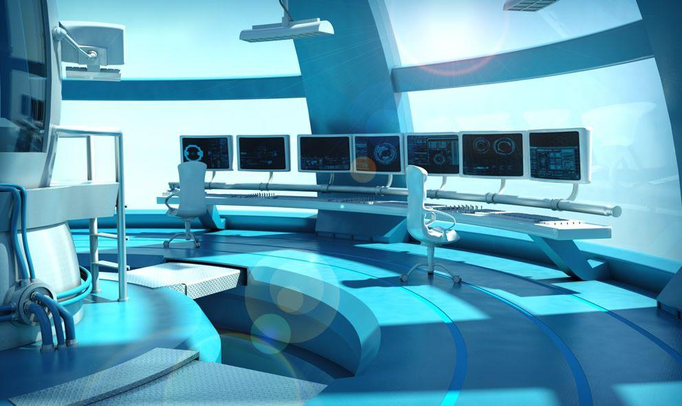 Blue Lab   Beta - Research in 2019   Anime scenery, Sci fi ...