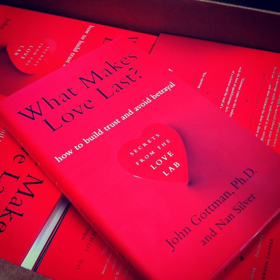 What makes love last john gottman relationships and books betrayal fandeluxe Choice Image