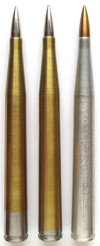 Special 7 92 x 145 anti-tank rounds for BRNO anti-tank rifle