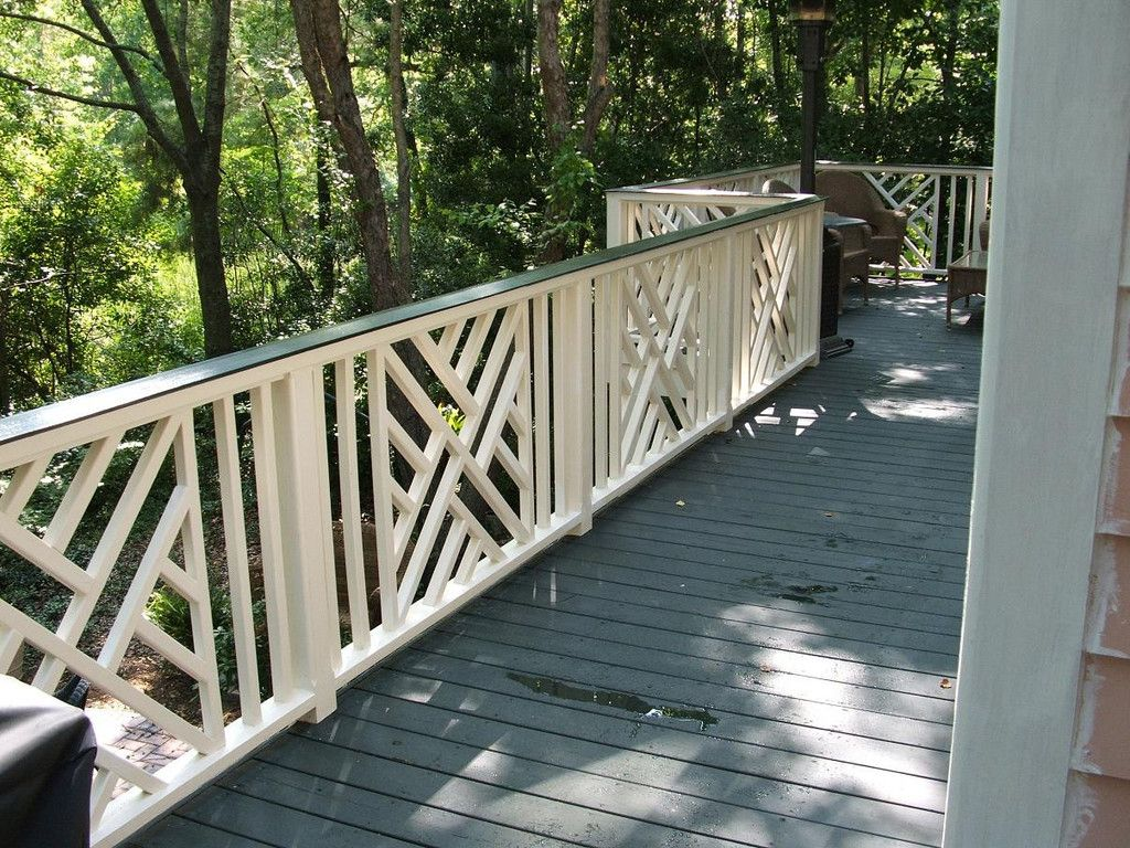 95 700 Lattice Panel Porch Balusters Porch Design Front Porch Railings