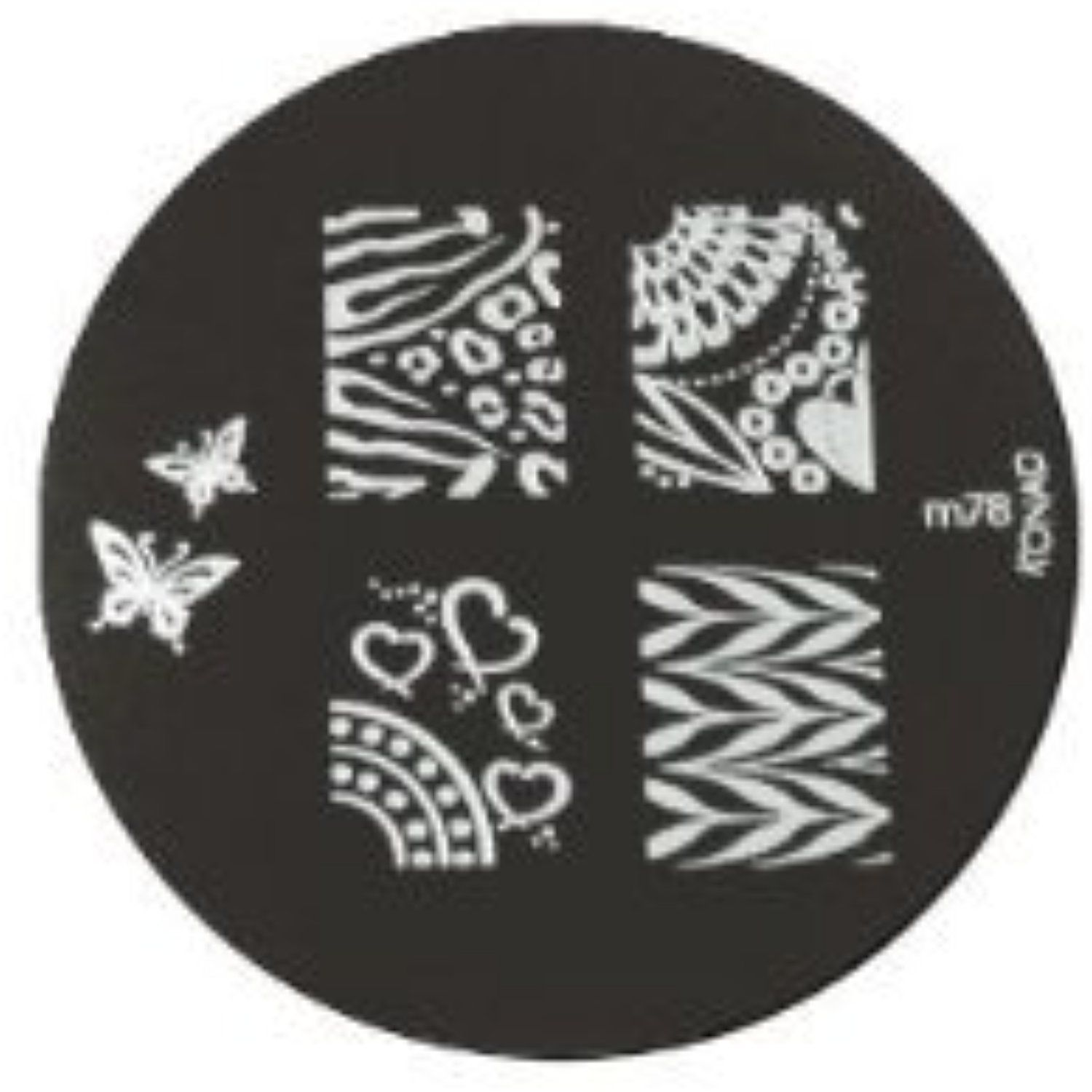 Konad stamping nail art image plate m see this great product