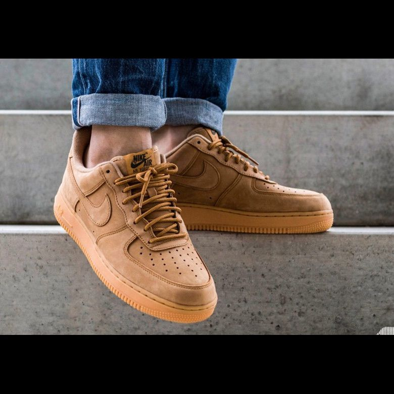 Nike Shoes | The Nike Air Force 1 Low Flax Sz 9.5 | Color