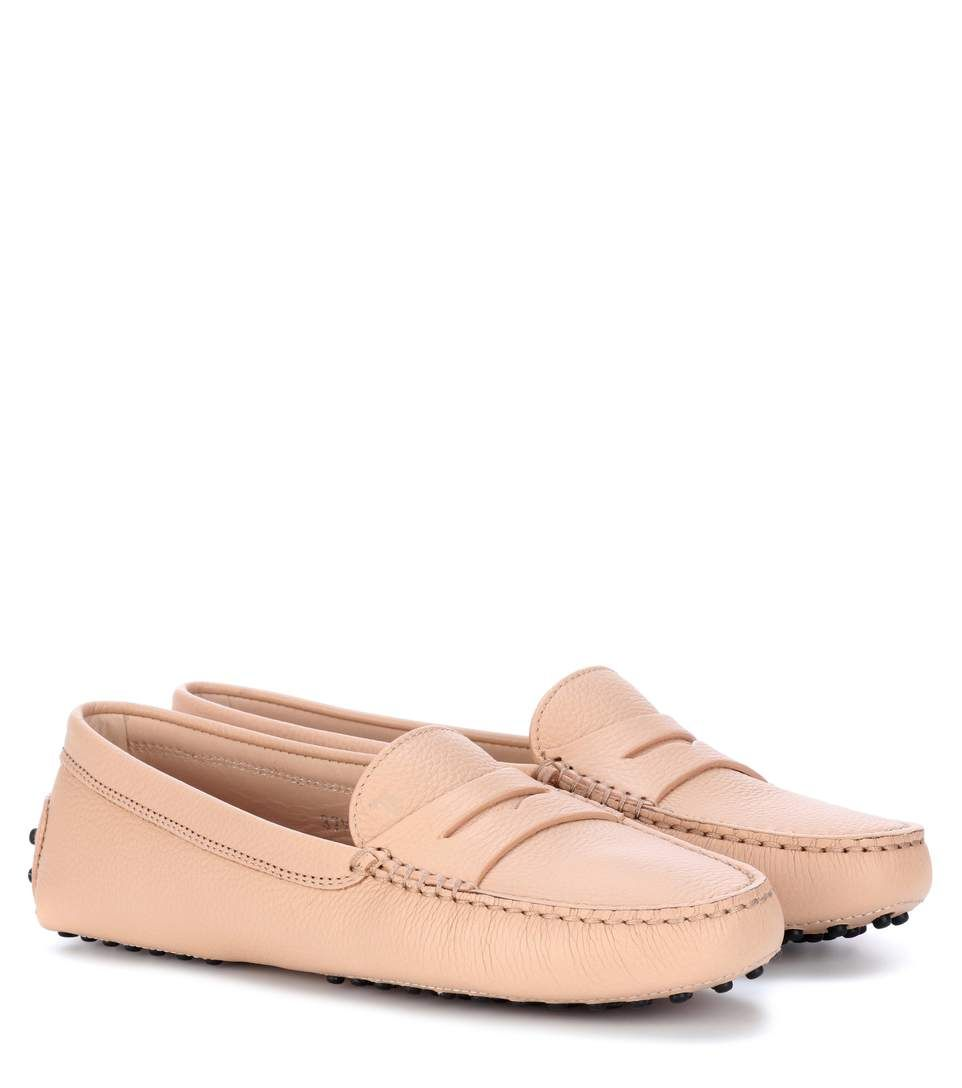 2c0dc2f72ce TOD S Gommino Leather Loafers.  tods  shoes  flats